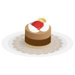ケーキ - チョコレートムース