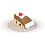 ケーキ - チョコレートケーキ
