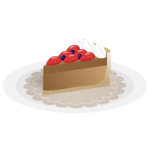 ケーキ - チョコレートタルト