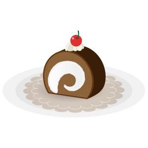 ケーキ - チョコロール