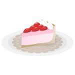 ケーキ - 苺ムースたると