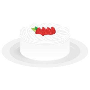 ケーキ - 苺のホールケーキ
