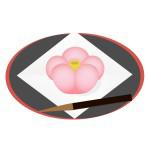 和菓子 - ねりきり(梅)