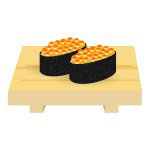 寿司 - イクラ