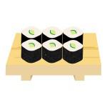 寿司 - カッパ巻き