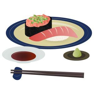 寿司 - ネギトロ&マグロ