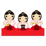 雛祭り - 三人官女