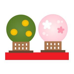 雛祭り - 右近桜&左近橘