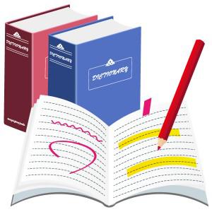 塾辞書ノート フリーイラスト素材 趣味で作ったイラストを配る