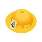 1年生の黄色い帽子