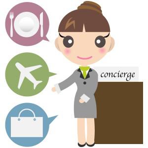 コンシェルジュ(concierge)