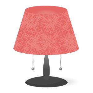 テーブルライト(赤)