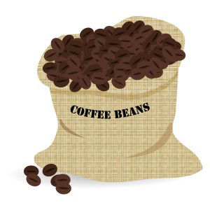 コーヒー豆&麻袋