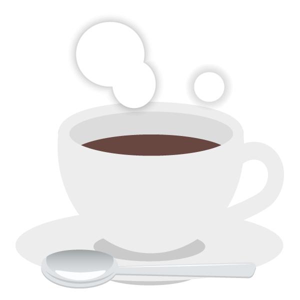 コーヒー フリーイラスト素材 趣味で作ったイラストを配るサイト