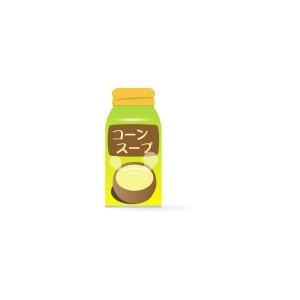 ボトル缶入りコーンスープ