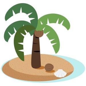 椰子の木&椰子の実