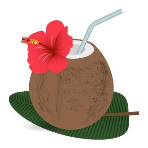 椰子の実ジュース(Coconut water)