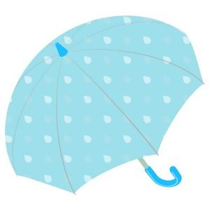 ドロップ柄の傘