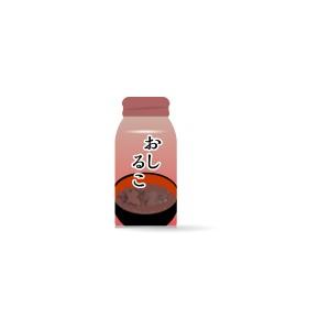 ボトル缶入りお汁粉