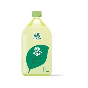 1Lペットボトルの緑茶