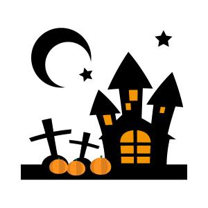 ハロウィンとお城