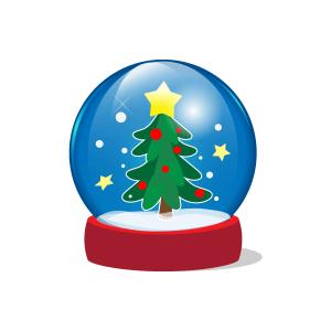 クリスマス・スノードーム