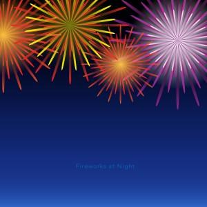 花火(Fireworks at Night)