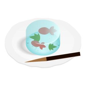 和菓子 金魚