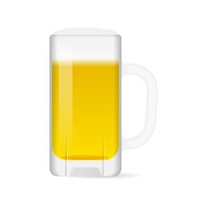 大ジョッキのビール