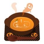 ハロウィンのカボチャスープ