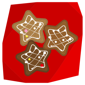 ジンジャークッキー(星形)