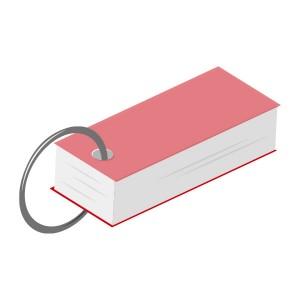 単語帳(赤)