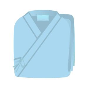検査衣(ブルー)