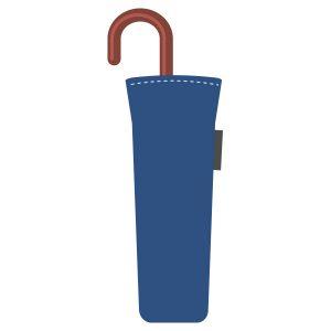 U字取っ手の折りたたみ傘