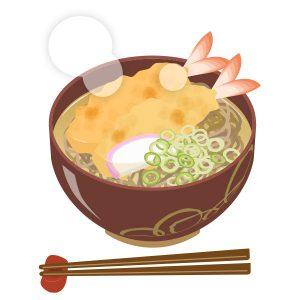 天ぷら蕎麦(松)