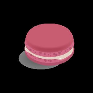 洋菓子 マカロン(ラズベリー)