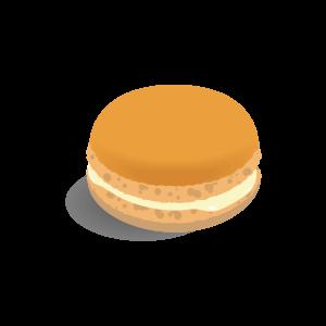 洋菓子 マカロン(オレンジ)