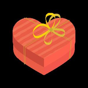 ハートのプレゼントボックス4