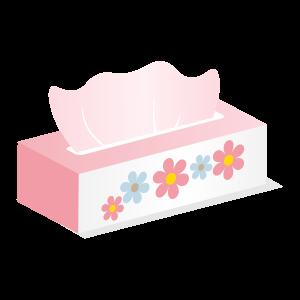 ティッシュ箱(ピンク)