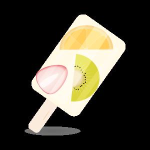 アイスキャンデーフルーツ