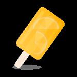 アイスキャンデーオレンジ