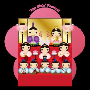 雛祭り 三段飾り01