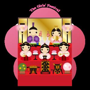雛祭り 三段飾り02