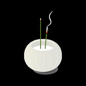 モダンな香炉