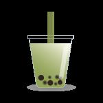 タピオカドリンク(抹茶ミルク)
