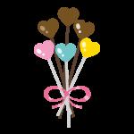 バレンタイン ハートのキャンディ02